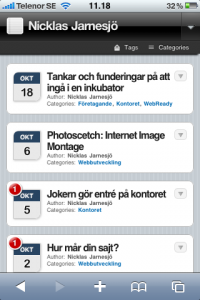 WPtouch iPhone Theme