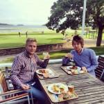 WebReady Sweden AB firar 2 år på Kalmar Golfkrog