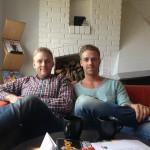 Kaffe på Kalmar Golfkrog på 2 års-dagen